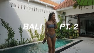 Gambar cover Vlog 48 • Getting Caught In A Tropical Rain Storm and Staying In Seminyak, Bali On My Own!