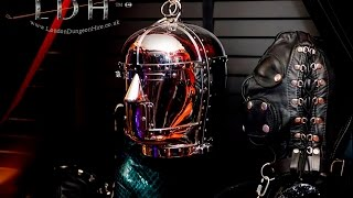 Encased in Steel - No escape mind bondage at London Dungeon Hire
