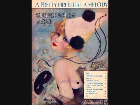John Steel  A Pretty Girl is Like a Melody 1919