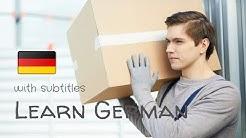 Lerne 8 deutsche Wörter⭐⭐⭐⭐⭐Deutsch lernen | Deutsch für Anfänger mit Untertiteln in vielen Sprachen