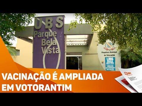 Vacinação é ampliada em Votorantim - TV SOROCABA/SBT
