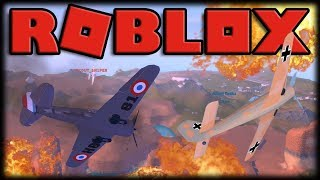 BATTLE OF PLANES OF THE SECOND WAR IN THE ROBLOX!! -ROBLOX Feindlicher Himmel