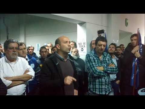 Palabras del Cro. Adrián Mastronicola en asamblea del Banco Provincia en Guanahani (05-09-17))