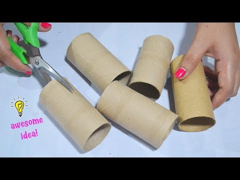 5 Ways To Reuse/Recycle Empty Tissue Roll| BEST OUT OF WASTE