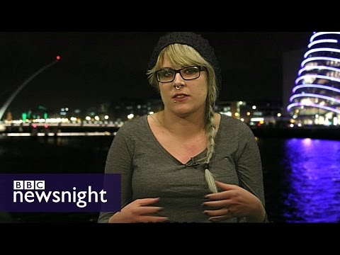 Why I broke the law to have an abortion in Northern Ireland - BBC Newsnight