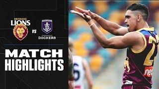 Brisbane V Fremantle Highlights | Round 2, 2020 | Afl