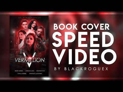 Vermillion | Book Cover Speed Video