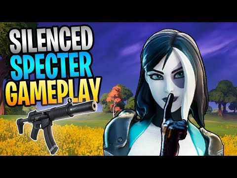 FORTNITE - Best Blockbuster Military Weapon SILENCED SPECTER SMG Save The World Gameplay