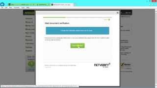 How to verify your own Neteller Account