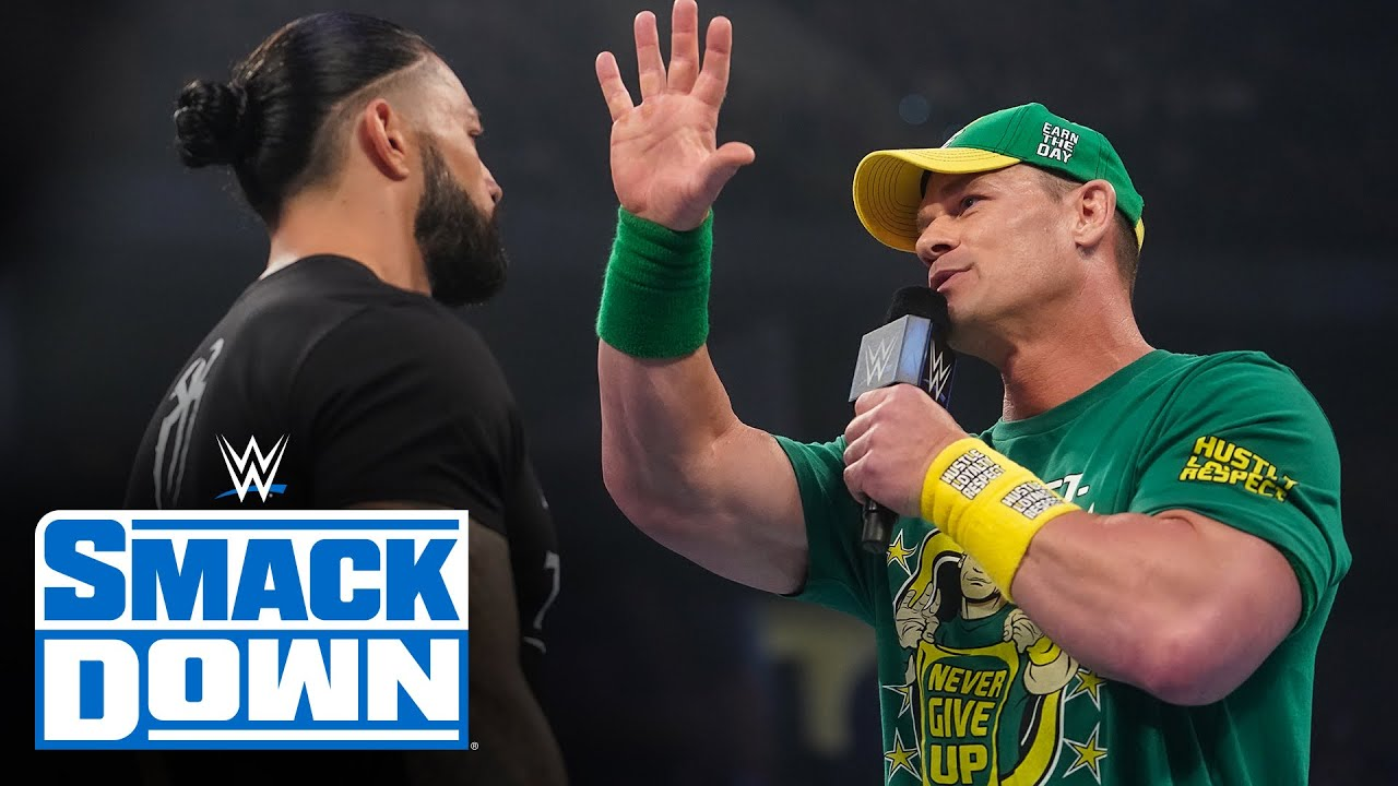 Download John Cena says all he needs to beat Roman Reigns is 1-2-3: SmackDown, Aug. 13, 2021