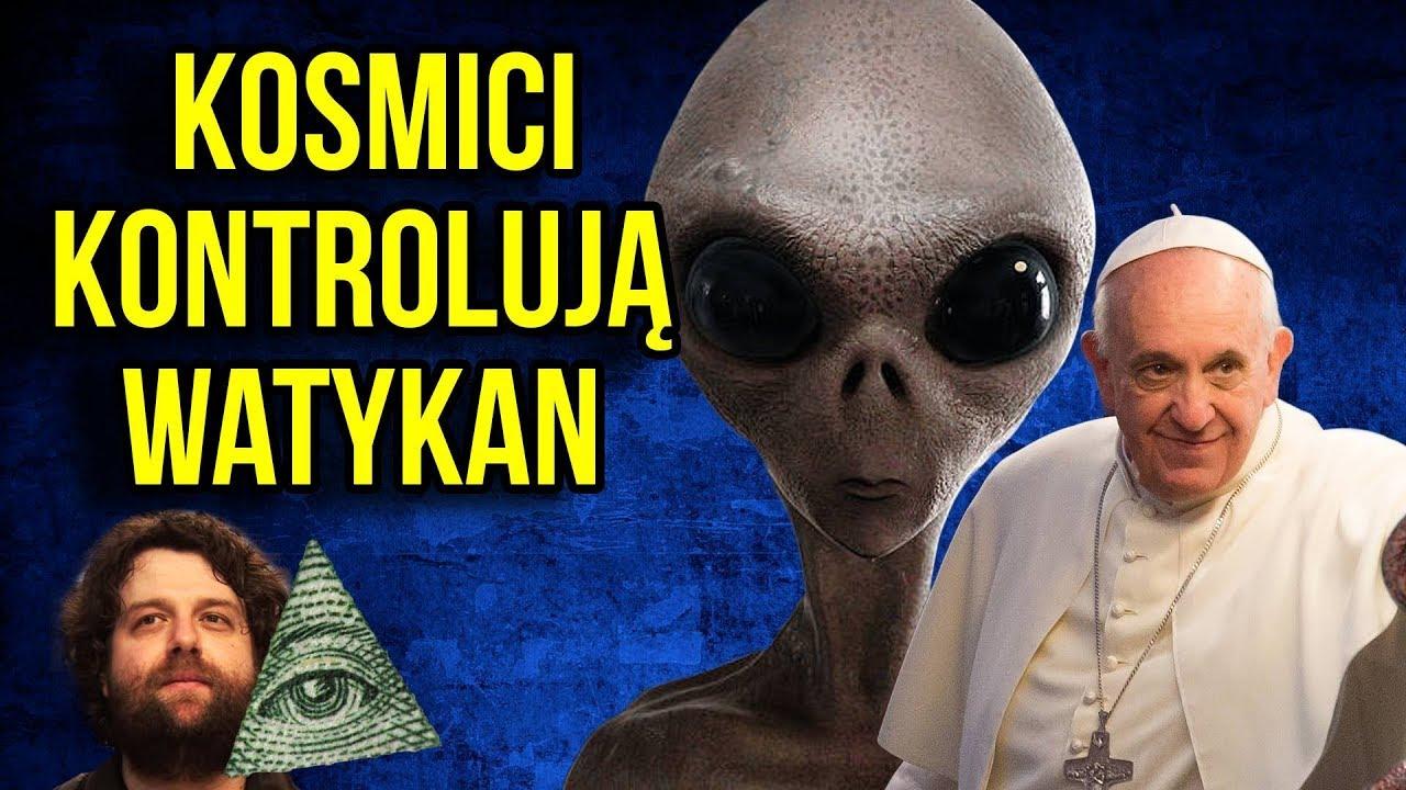Watykan i Papież Franciszek są Kontrolowani przez Kosmitów. Istnienie UFO Zostanie Ujawnione.