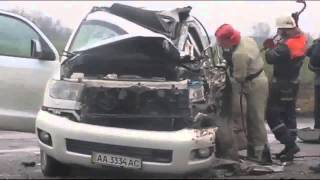 Видео с места смертельной аварии Кузьмы Скрябина