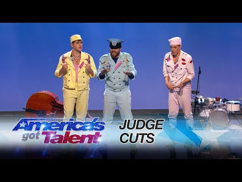 Sirqus Alfon: Swedish Group Uses Audience In Interactive Performance - America's Got Talent 2017
