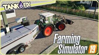 FARMING SIMULATOR 19 #22 - SERBATOIO CARBURANTE - GAMEPLAY ITA