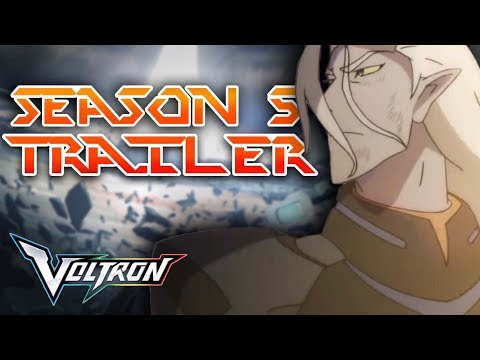 VLD SEASON 5 TRAILER - The White Lion, Lance and Lotor's Arcs, Sam Holt and MORE! | Voltron Analysis