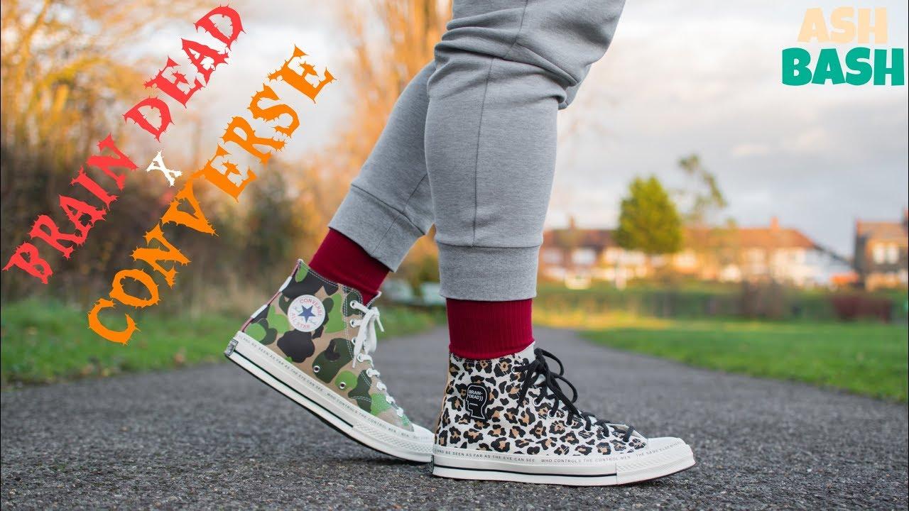 Review + On Foot | Brain Dead x Converse Chuck 70 | Ash Bash