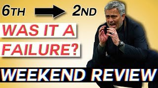 Was MOURINHO's Season a TOTAL Failure? Buffon, Iniesta and Torres Say Goodbye - Weekend Review