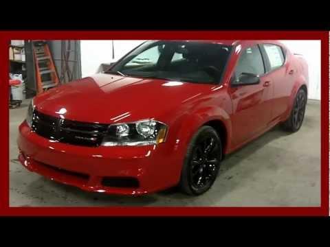 2013 Dodge Avenger Blacktop Review Youtube
