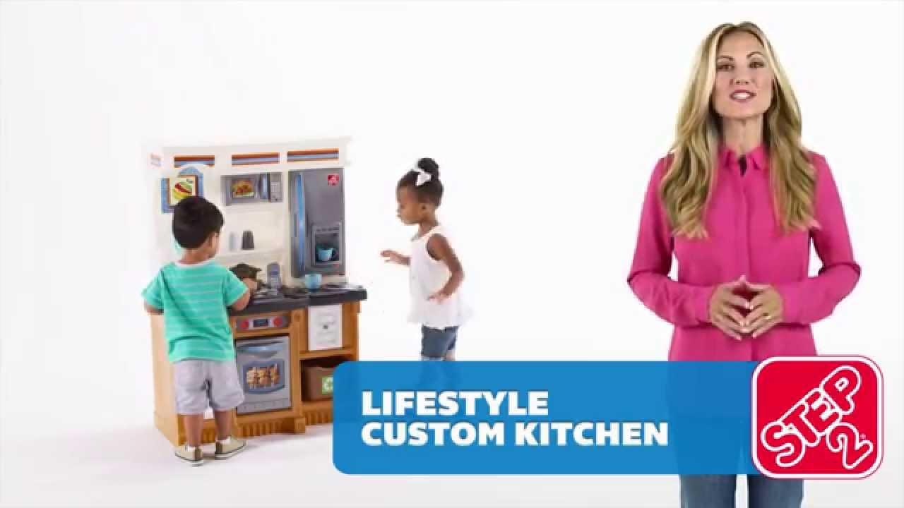 Step2 Lifestyle Custom Kitchen - YouTube