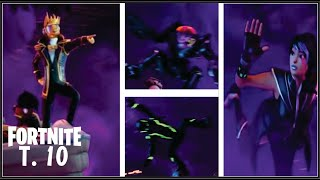 Saison 10 New Skin Trailler Réaction et Analyse Fortnite Bataille Royale