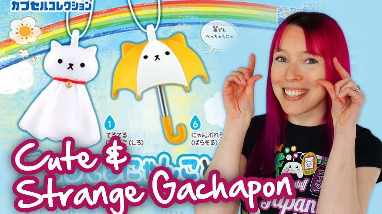 Cute Funny Japanese Gachapon Capsule Toys From Japan Youtube