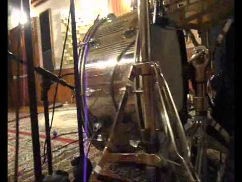 Ludwig stainless steel 1972   -Sound test at Gielle sound-