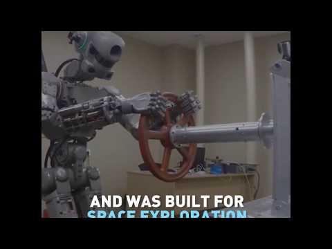 """Russian Real Life Terminator Robot"""