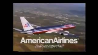 1996 American Airlines Spanish Language Commercial