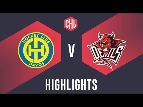 Highlights: HC Davos vs. Cardiff Devils