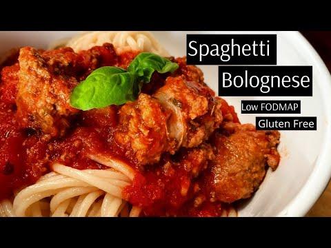 Low FODMAP, Gluten Free Spaghetti Bolognese