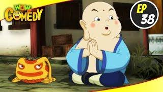 Little Buddha- S1EP38   Hindi Cartoon Show   Funny Videos For Kids   Wow Kidz Comedy