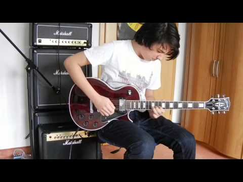 Zakk Wylde - Farewell Ballad (cover) -13 year old