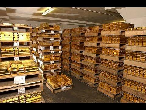 Где хранится золотой запас России???