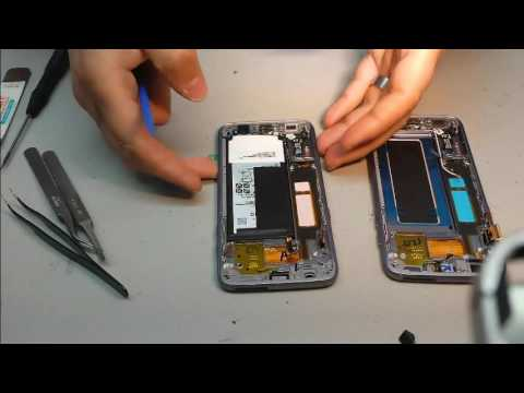 remplacement cran samsung galaxy s7 edge youtube