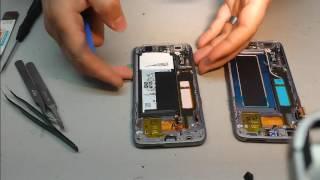 Remplacement écran Samsung galaxy S7 edge