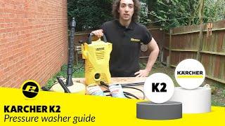 Karcher K2 Pressure Washer demo