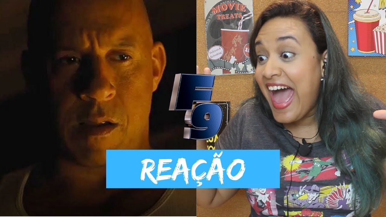 Trailer de Velozes e Furiosos 9 (Reação| Reaction)