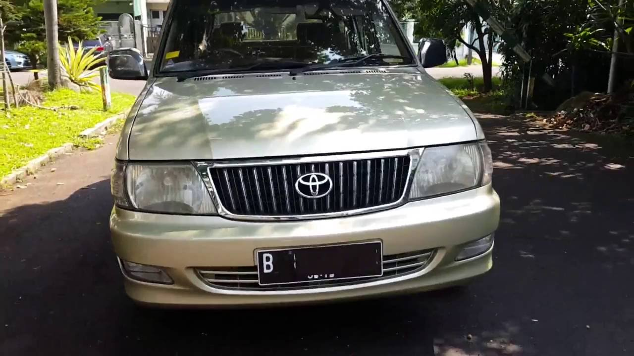 medium resolution of toyota kijang lgx 1 8 efi 2004 bensin