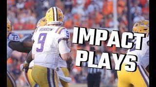 LSU's impact plays vs. Auburn