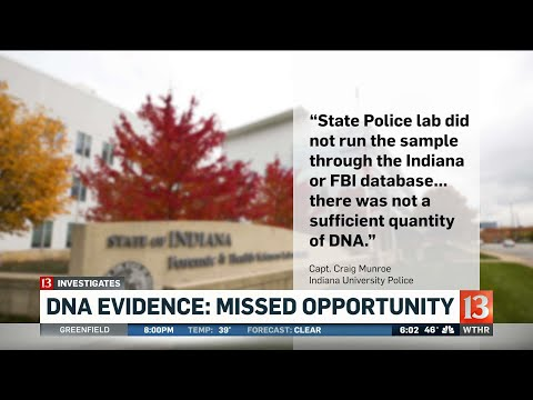 13 Investigates: DNA Evidence