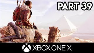 ASSASSIN'S CREED ORIGINS Gameplay Part 39 - 4K XBOX ONE X FULL GAME (Exclusive Walkthrough)