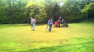 Verticutting The Greens