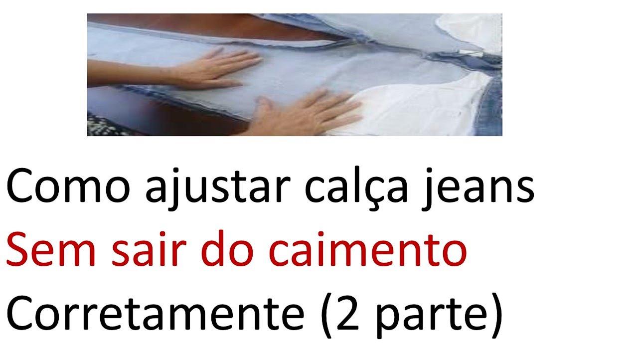 1daeebbf8 Dica ajustar calça jeans sem erros ( 2 parte )iniciantes da costura ...