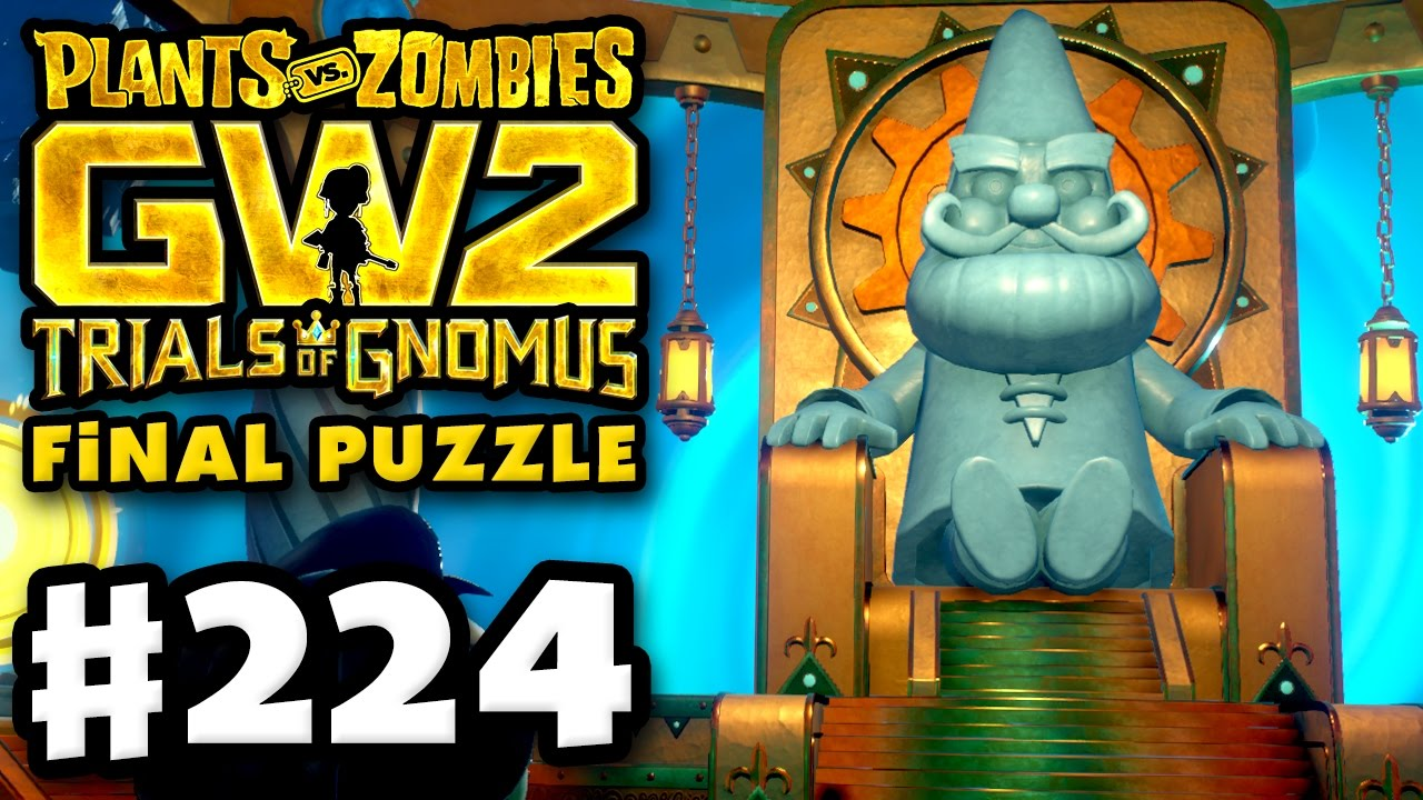 Final Puzzle Plants Vs Zombies Garden Warfare 2 Gameplay Part 224 Pc Youtube
