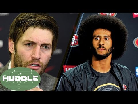How Did Jay Cutler Get a QB Job Before Colin Kaepernick!? -The Huddle