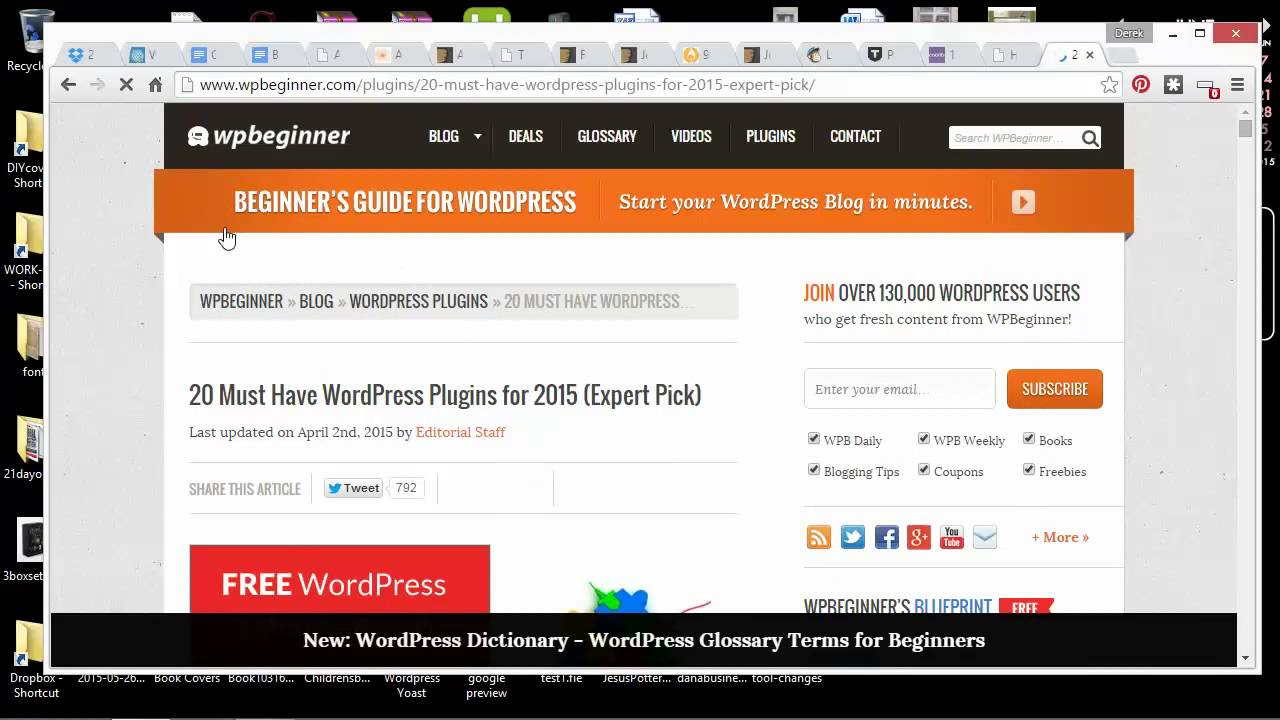 How to make an author website?