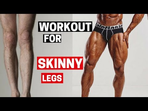 Build Leg Workouts for SKINNY Legs | How To BUILD Leg Muscles