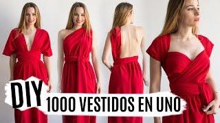 DIY vestido multiposición | El vestido más fácil del mundo 4.0