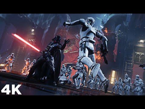 Darth Vader vs Unlimited Clone Troopers - STAR WARS Jedi: Fallen Order
