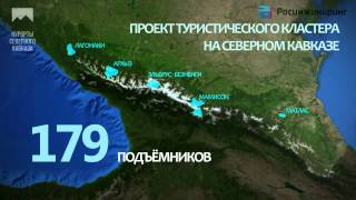 видео Развитие курортов Северного Кавказа